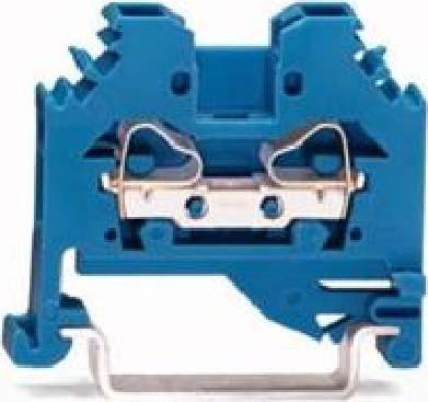 WAGO Kontakttechnik Durchgangsklemme 0,08-4mmq blau 281-104