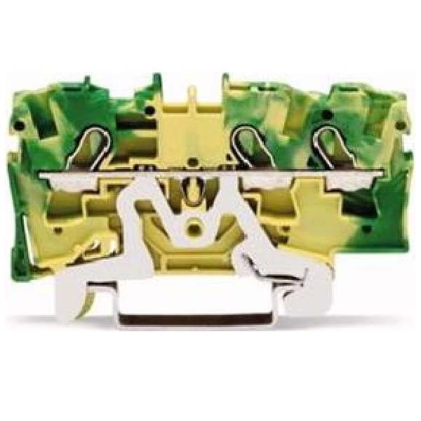 wago kontakttechnik schutzleiterklemme 2004 1307 elektroartikel online shop. Black Bedroom Furniture Sets. Home Design Ideas