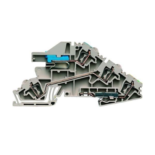 Weidmüller Verteilerklemme 2,5qmm Direktmontage ZDL 2.5 S/NT/L/PE