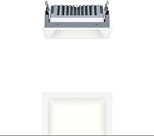 Zumtobel Group LED-Einbauleuchte P-INFQ190L  60818605 IP20 LED Leuchte LED | Vogue