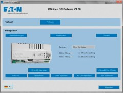 Ceag Notlichtsysteme PC-Software PC Software CGLine