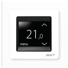 Devi UP-Uhrenthermostat devireg Touch m.Rahm