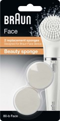 Procter&Gamble Braun Beauty-Schwamm SE80-b 2er (VE2)