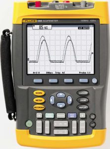 Fluke ScopeMeter 500MHz 2 Kanäle FLUKE-190-502/EU/S