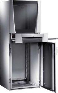 Rittal Schrank: bestellen Sie den Rittal PC-Schrank mit Monitortür günstig im Rittal Online Shop von Elektro4000