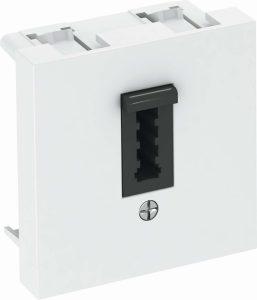 Auch die Telefonanschlussdose ist Teil der Haus Elektroinstallation und muss beim Elektroinstallation planen unbedingt berücksichtigt werden.