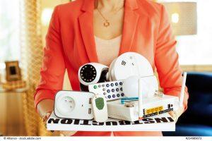 Verschiedene Smart-Home-Geräte